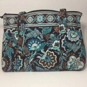 Retired Vera Bradley Java Blue Bag